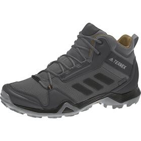 adidas TERREX AX3 Mid GTX Kengät Miehet, grey five/core black/mesa
